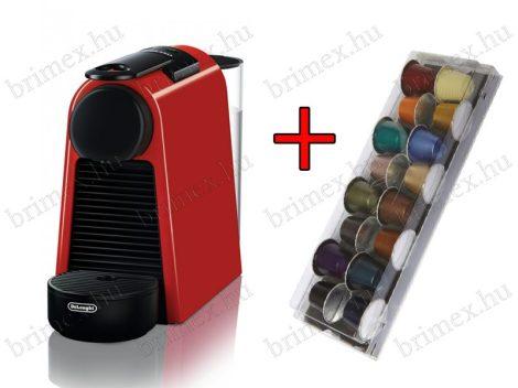 Delonghi EN85.R Essenza Mini kapszulás kávéfőző + 14 db kapszula
