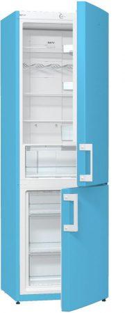 GORENJE NRK6191C babyBlue világoskék No-Frost kombinált hűtőszekrény