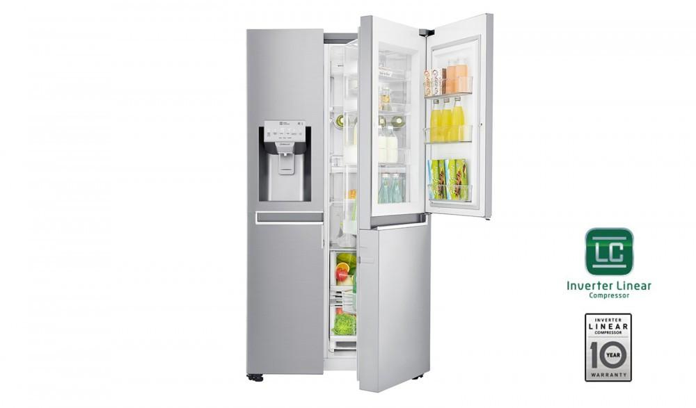 LG GSJ960NSBZ Side by Side hűtőszekrény